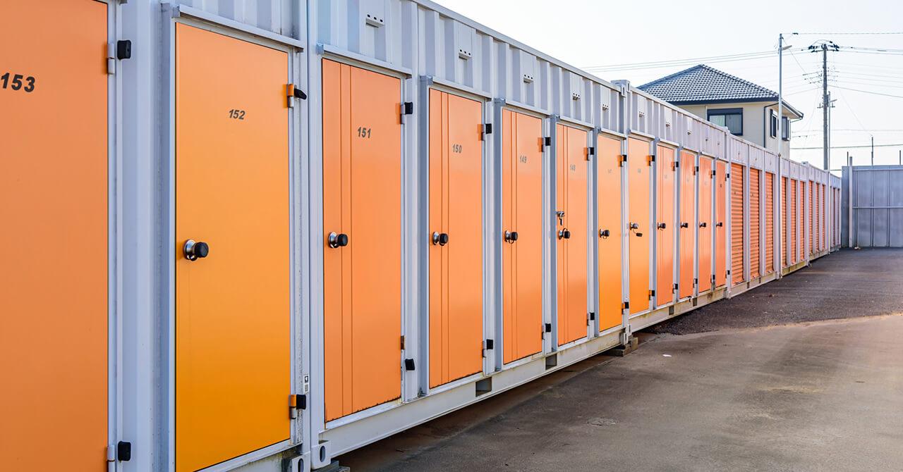 屋外型トランクルーム(コンテナ)イメージ