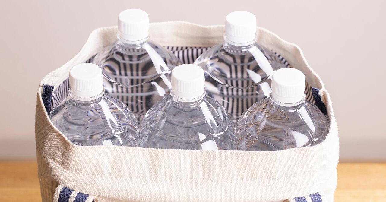 備蓄水の量や保存方法、保管場所