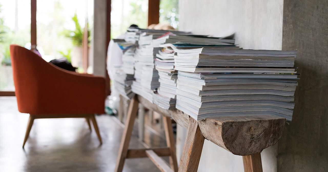 雑誌の収納・保管方法