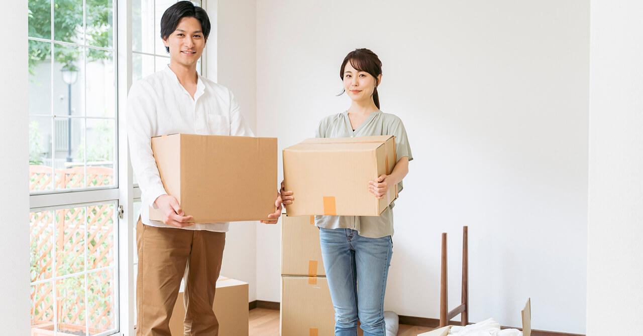 結婚・同棲前の断捨離や荷物整理