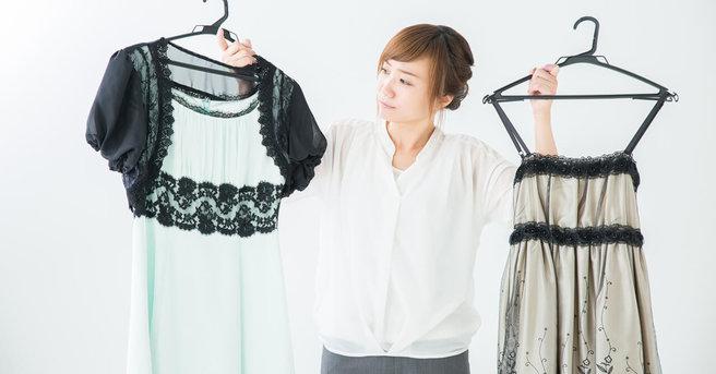 ドレスの収納