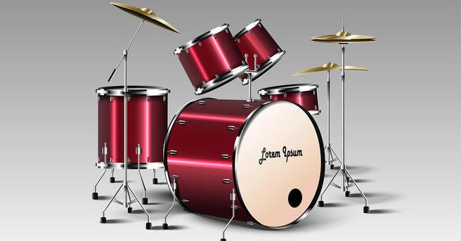 ドラムセットの保管