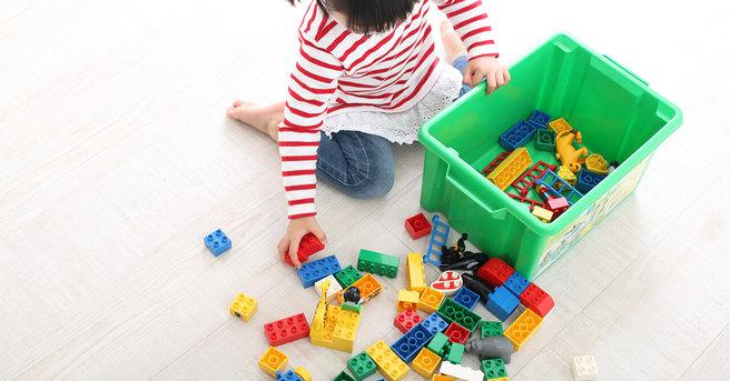 子供のおもちゃの収納方法