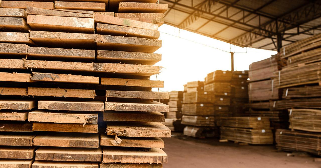 木材保管イメージ
