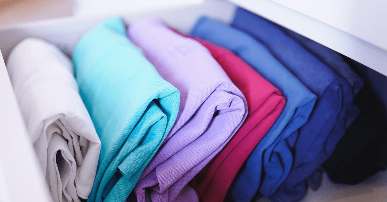 Tシャツの収納方法