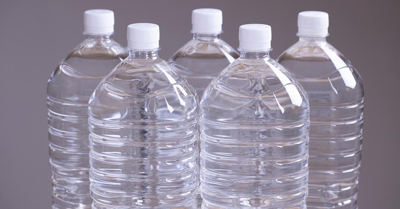 備蓄した水の保存場所