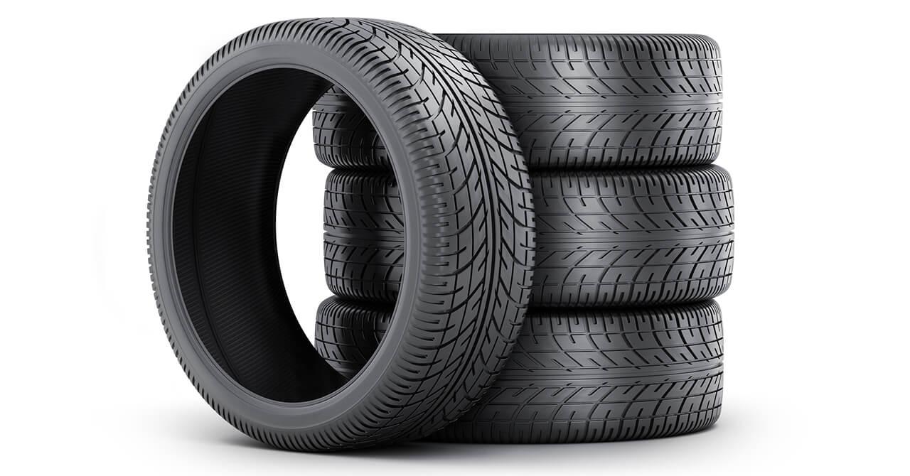 タイヤの置き方