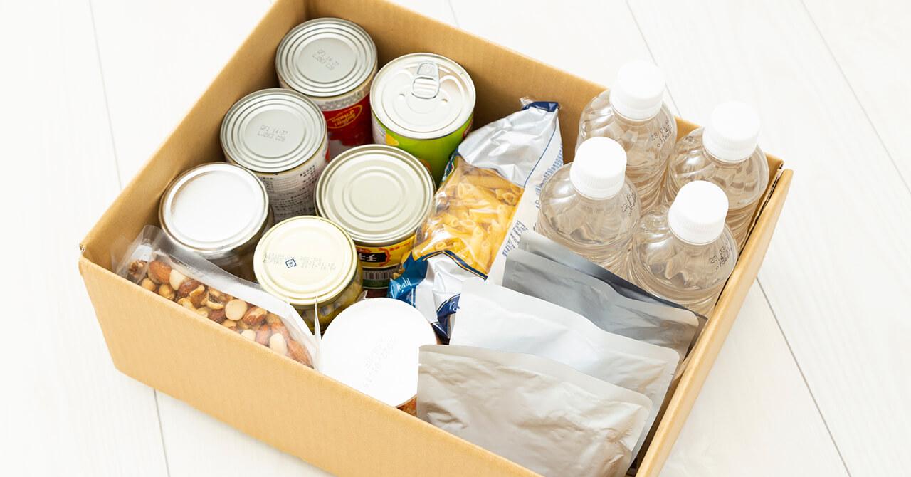 食料品の備蓄
