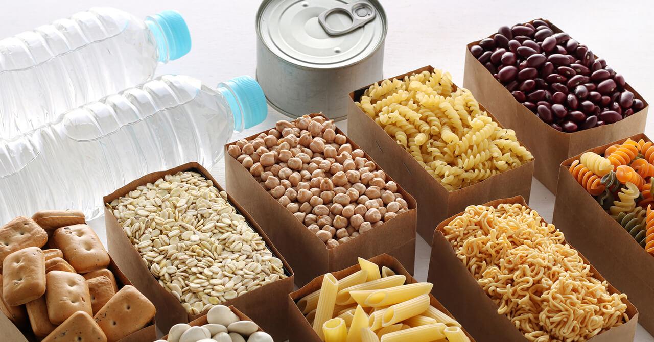 備蓄する食料の栄養バランス
