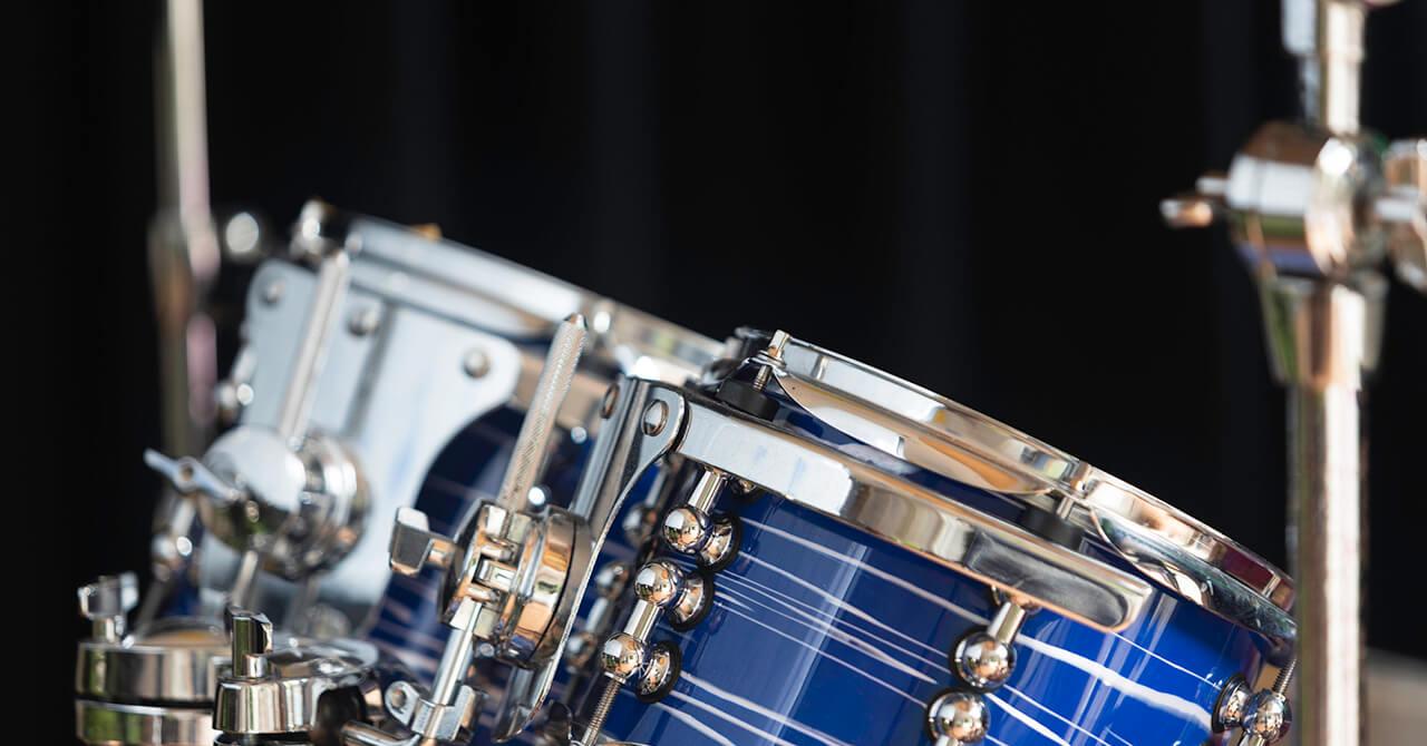 ドラムセットの基本の収納方法