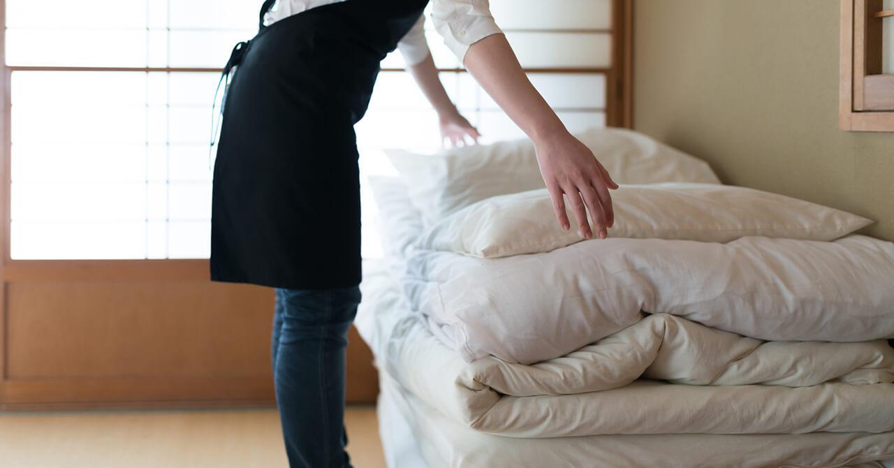 布団の基本的な収納方法