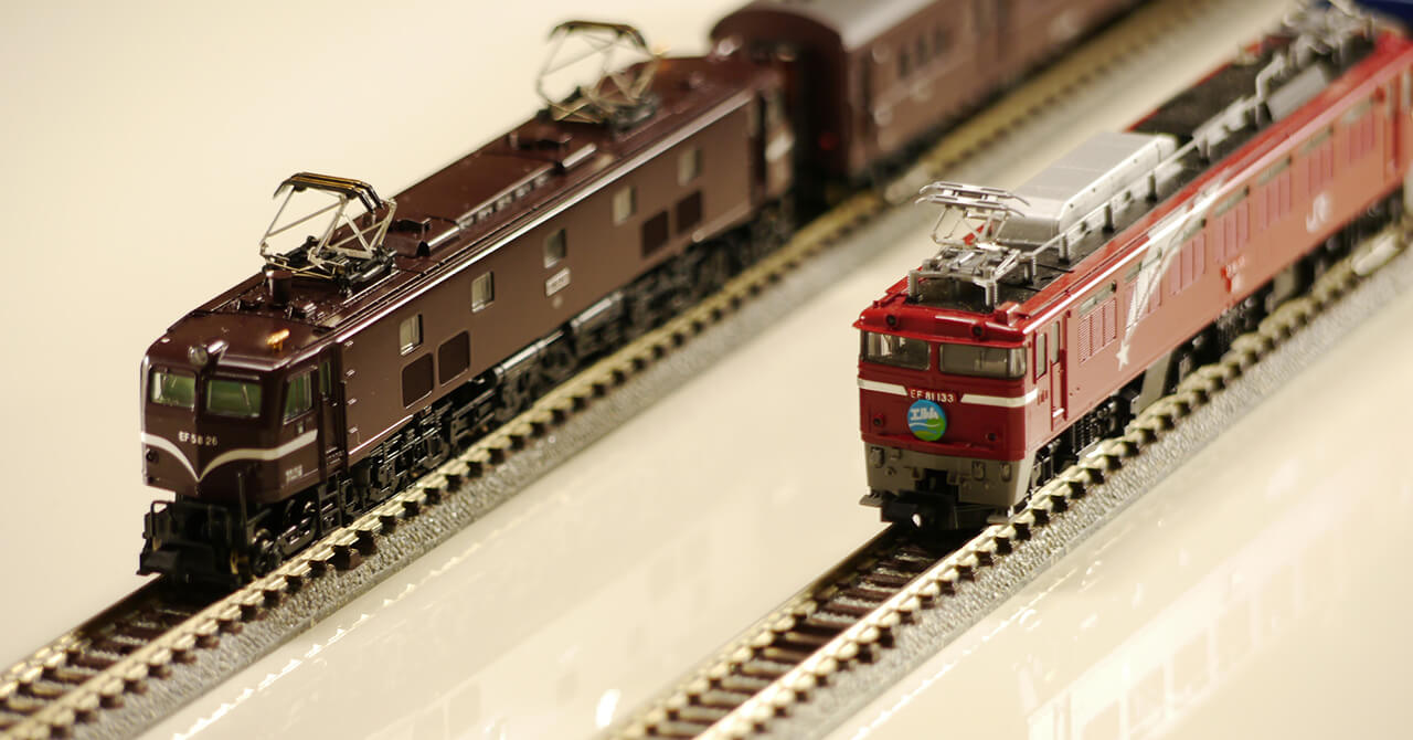 鉄道模型の保管