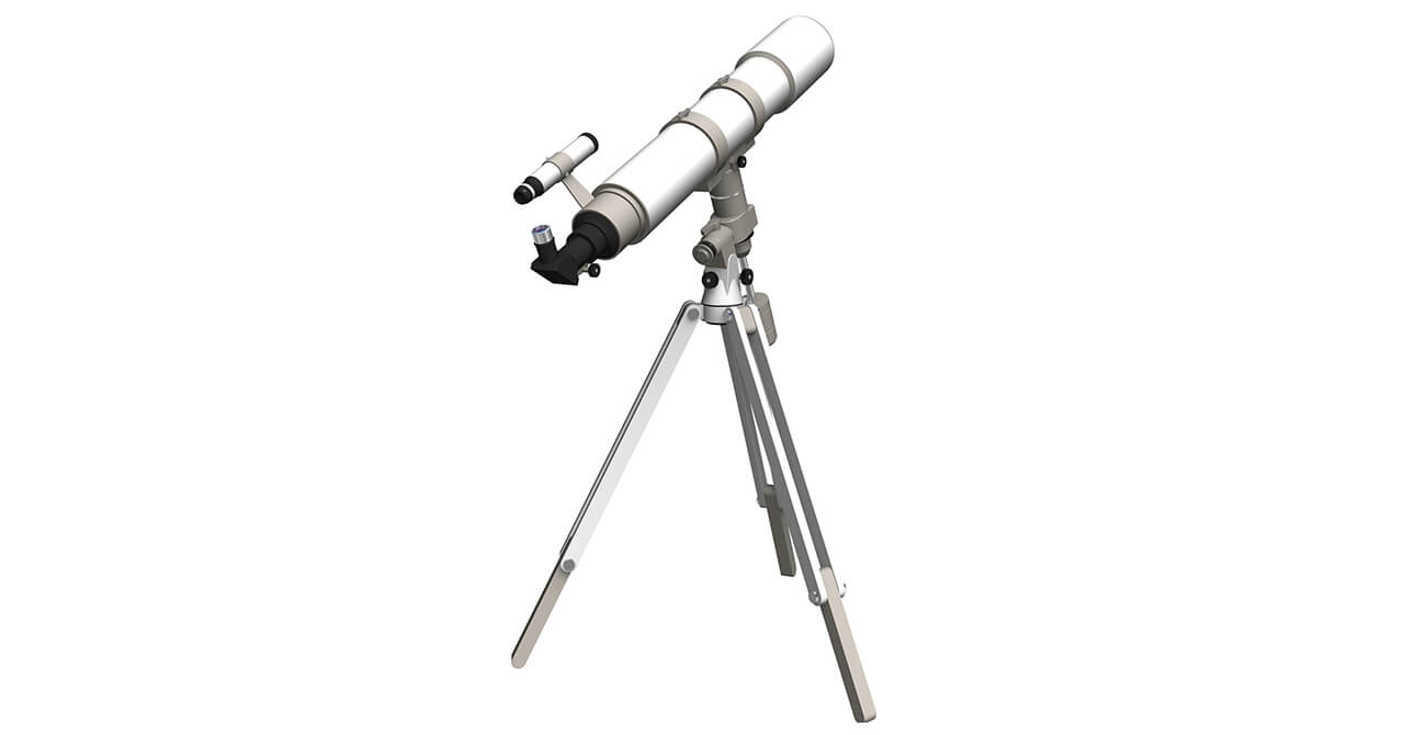 天体望遠鏡の保管にトランクルームを活用