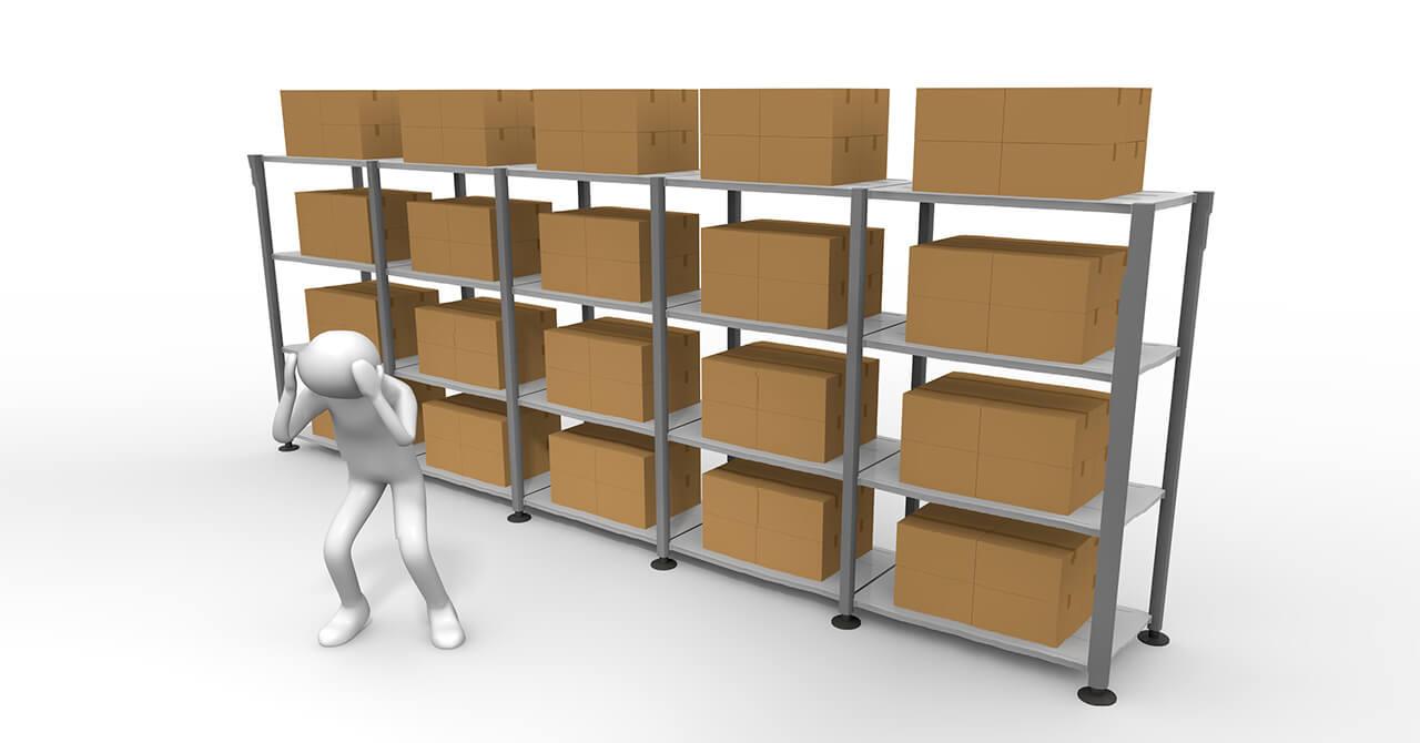 ECサイト・ネットショップの在庫保管でよくある悩み