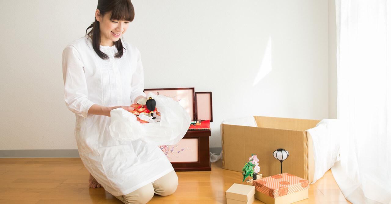 雛人形を収納する時のポイント
