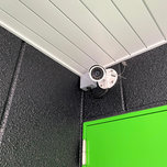 キーピット調布つつじヶ丘の屋外防犯カメラ