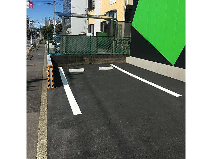 キーピット板橋赤塚の駐車場