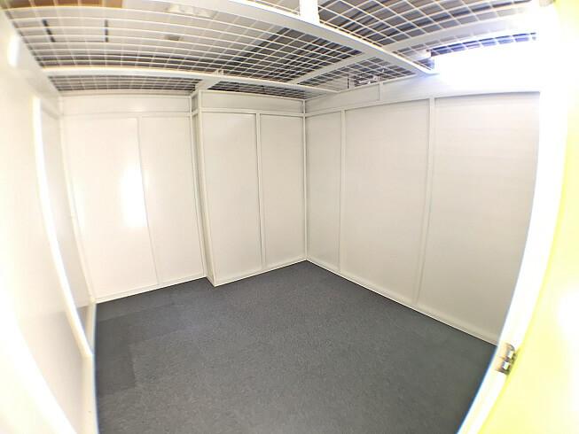 「キーピット江東木場」トランクルームの収納スペースイメージ