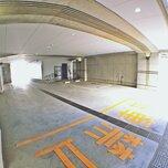 「キーピット江東木場」の駐車場(ビルトインガレージ)
