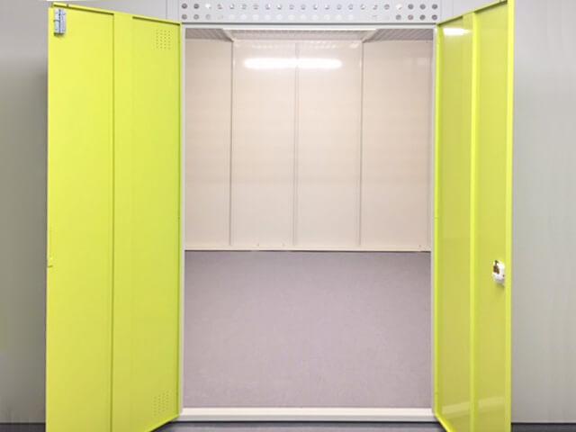 「キーピット江戸川北小岩」トランクルームの収納スペースイメージ