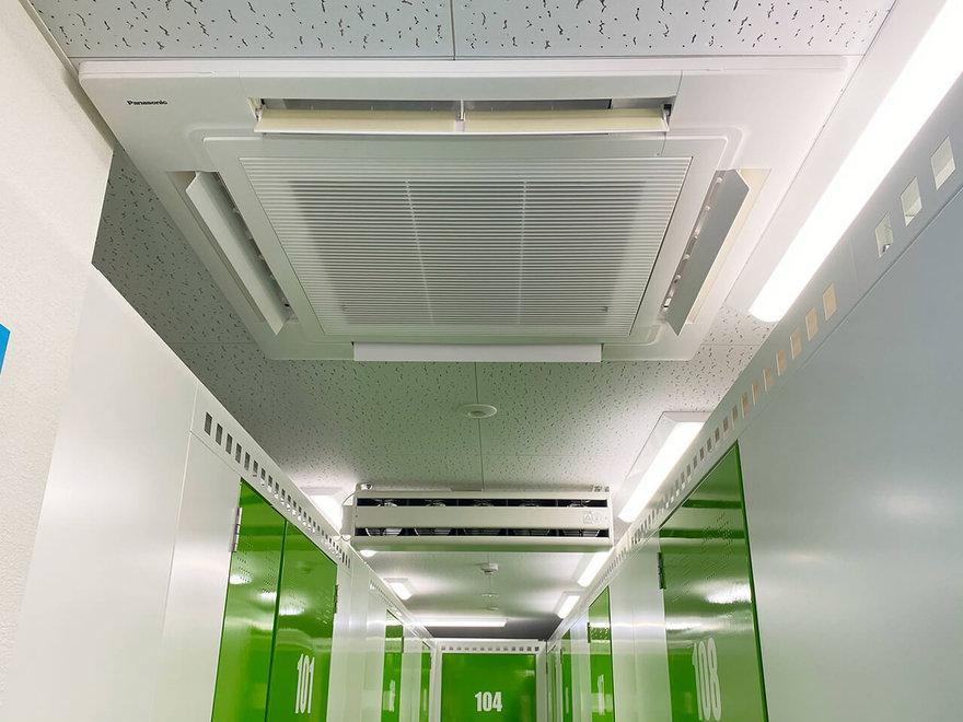 キーピット西葛西Ⅱの空調設備.jpg